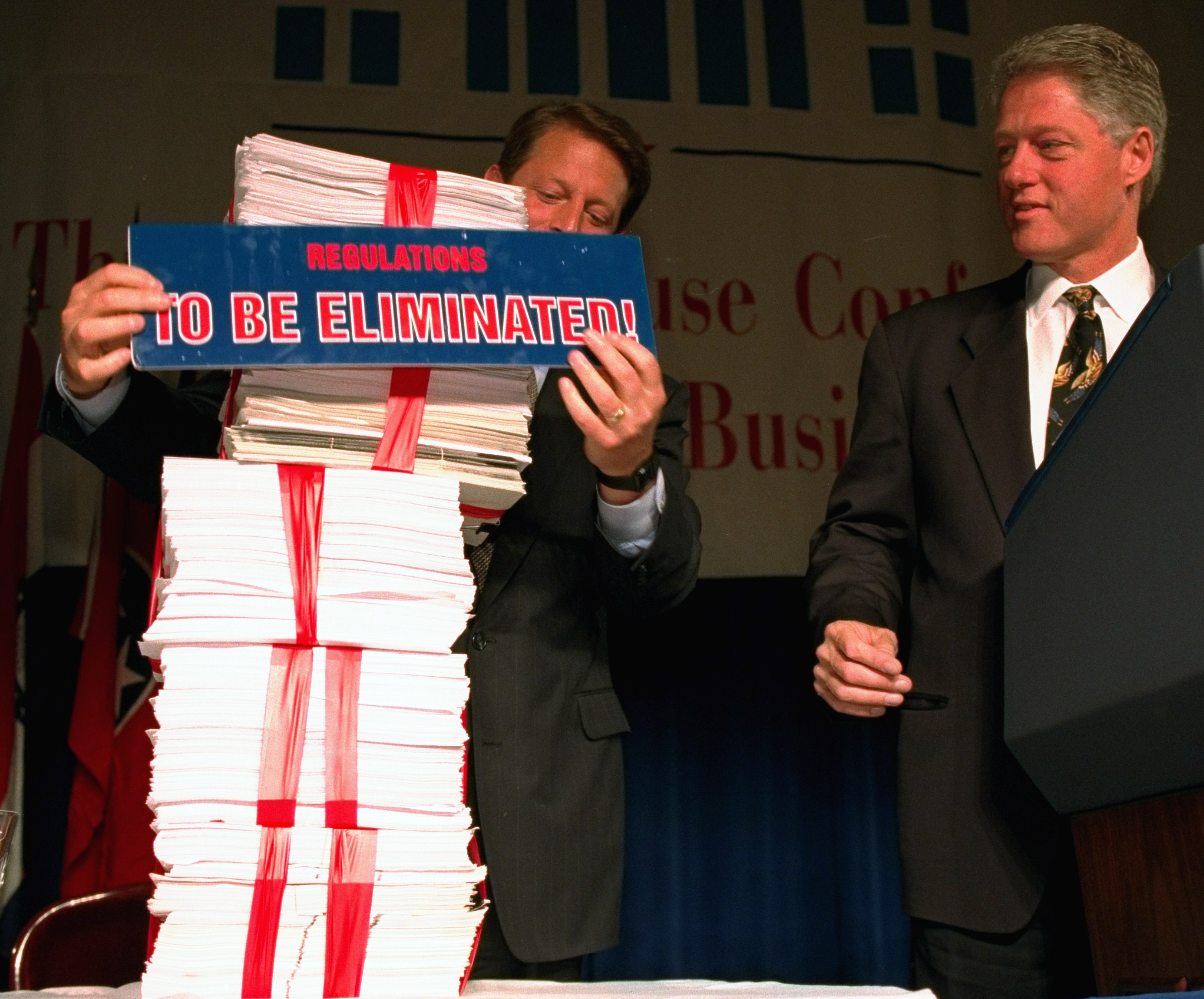 President Clinton and Vice President Gore
