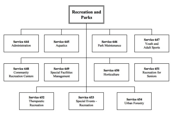 Parks and Recreation Management sample academic report