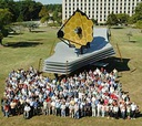 NASA will feature a replica of the James Webb space telescope, shown here at the Goddard Space Flight Center in a 2005 photo, during Public Service Recognition Week.