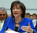 Lurita Doan testifies before a House committee last year.