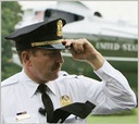 An officer with the uniformed division of the Secret Service.