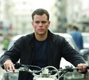 Actor Matt Damon as CIA agent Jason Bourne in the Bourne series.