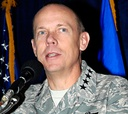 Gen. Donald Hoffman, commander of the Air Force Materiel Command, pledges to keep small firms in mind.
