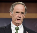 "Sponsor Tom Carper said the plan ""will go a long way in improving"" government."