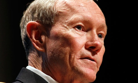 Chairman of the Joint Chiefs of Staff Martin Dempsey.