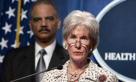 Health and Human Services Secretary Kathleen Sebelius and Attorney General Eric Holder made the announcement Tuesday.