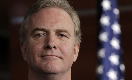 Rep. Chris Van Hollen, D-Md., says it's unfair that feds must make the primary sacrifice to pay for unemployment insurance.