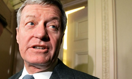 Sen. Max Baucus, D-Mont., proposed the work-retirement hybrid. 