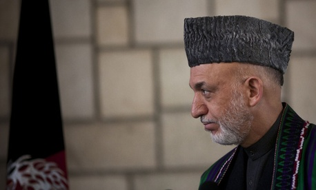 """Afghan security forces have the ability to keep the security in rural areas and in villages on their own,"" Afghan President Hamid Karzai said."