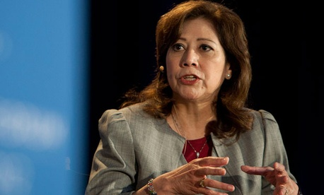 Labor Secretary Hilda Solis is one of the members of the advisory panel.