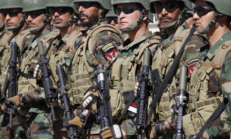 Afghan Special Operations Units will lead the way in the country in the future, a memo says.