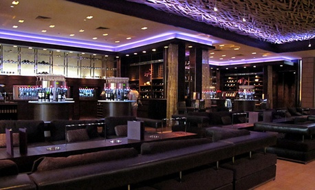 The Hostile Grape lounge is in the M Resort and Casino in Las Vegas.
