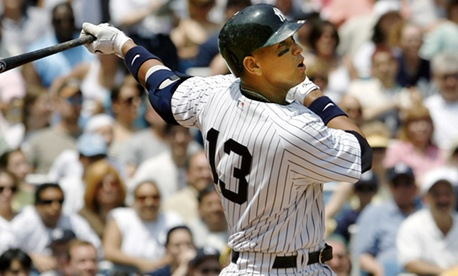 Yankees infielder Alex Rodriguez