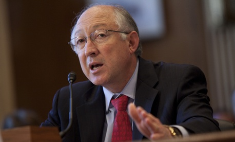 Interior's Ken Salazar testified before the Senate Indian Affairs Committee hearing on the Cobell v. Salazar lawsuit.