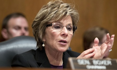 Sens. Barbara Boxer, D-Calif., and Chuck Grassley, R-Iowa, introduced a bill in March to lower the maximum amount taxpayers reimburse all government contractors.