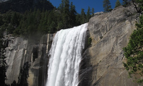 Vernal Falls in Yosemite National Park.