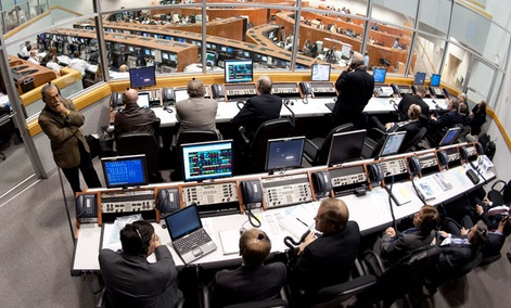 The Launch Control Center at NASA Kennedy Space Center in Cape Canaveral, Fla.