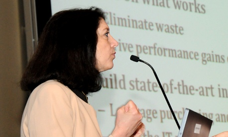 Shelley Metzenbaum, OMB's associate director of performance and personnel management.