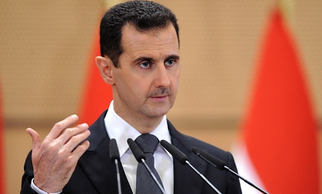 President Bashar al-Assad is being heavily criticized by the international community.