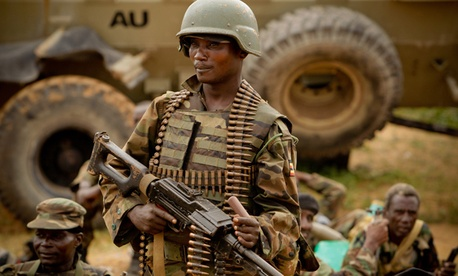 The U.S. military has helped train troops from other countries to combat al-Qaeda militants in Somalia.