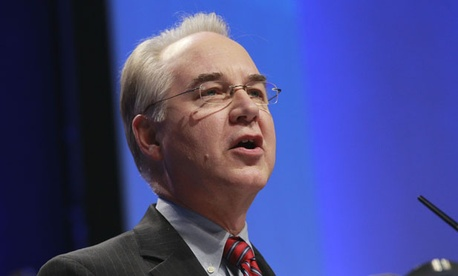"""What I think we will do is to pass a piece of legislation that will continue the current tax policy for at least a year and send that to the Senate,"" said Rep. Tom Price, R-Ga."