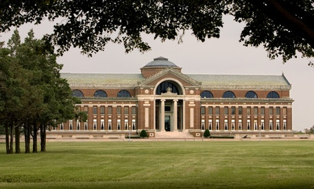 Washington&#39;s Theodore Roosevelt Hall is home of the National War College.