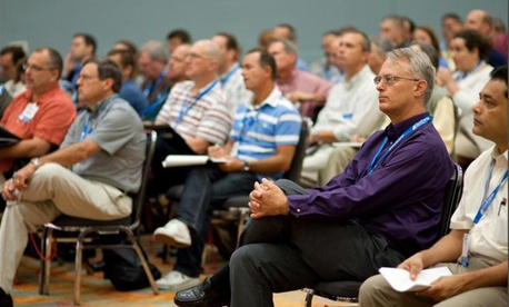 Conference attendees at the 2011 GovEnergy conference
