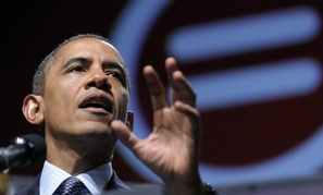 Barack Obama addressed the National Urban League convention Wednesday.