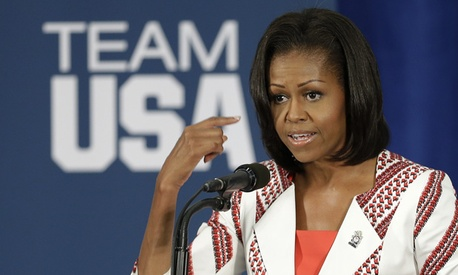 First Lady Michelle Obama called the experience  humbling.