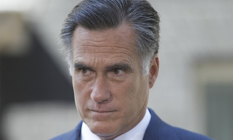 Mitt Romney is in London this week.