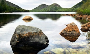 Maine's Acadia National Park was the first National Park created east of the Mississippi River.