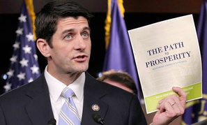 "Rep. Paul Ryan, R-Wisc., released ""Path to Prosperity"" budget recommendations in 2011."