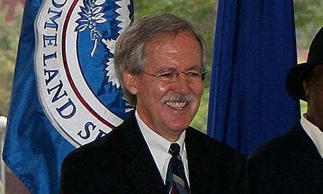 Paul Prouty attended the 2009 Homeland Security groundbreaking ceremony.