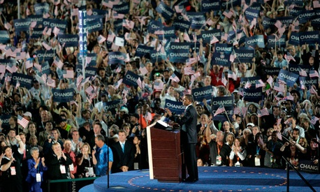The 2008 Democratic National Convention was held in Denver.