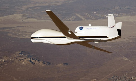Weather researchers hope drones like NASA's Global Hawks can take hurricane tracking to a new level.