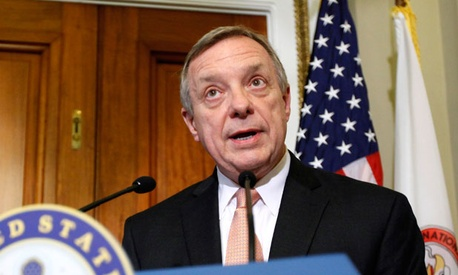 "Sen. Dick Durbin, D-Ill., said, ""It's very hard to look at the way Congress has functioned and not think there is going to be a tremendous temptation on the part of Congress to kick this thing down the road."""