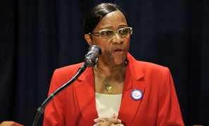 """""""The VA must make meaningful changes in eradicating agency mismanagement,"""" AFGE National VA Council President Alma Lee said in a st"""
