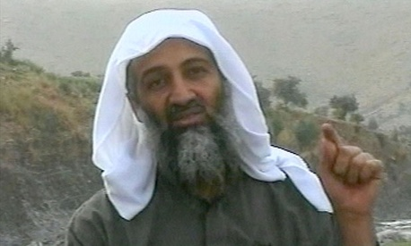 Osama bin Laden in 2002.
