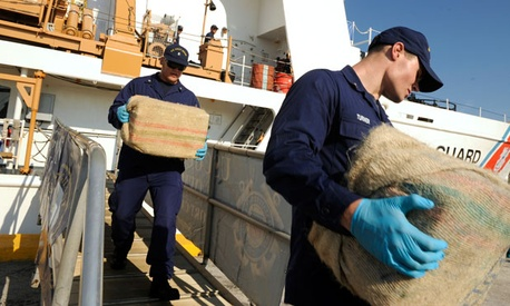 Although they captured 129 tons of cocaine on its way to the U.S. last year, the Coast Guard thinks that close to 500 tons could now be making it through.