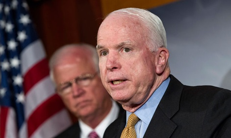 Sens. Saxby Chambliss, R-Ga., and John McCain, R-Ariz., co-wrote the piece with Sen. Kay Bailey Hutchison, R-Texas.