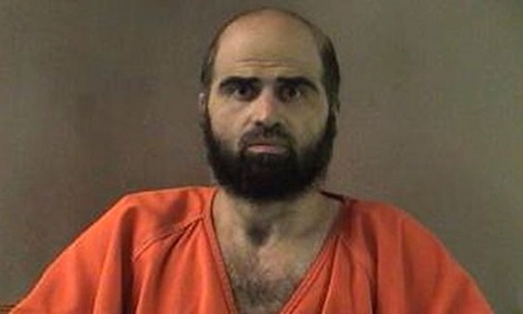 Army Maj. Nidal Hasan killed 13 people and injured 43 others in 2009.