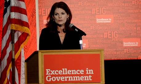 Beth McGrath, DoD's Deputy Chief Management Officer, spoke about innovation at Excellence in Government Live.