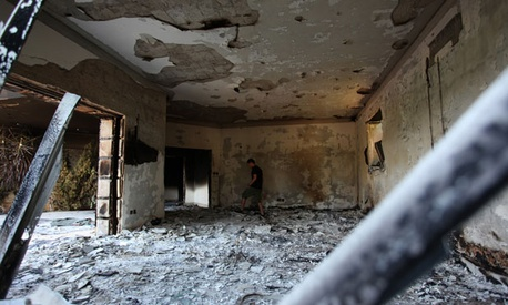 The United States Consulate in Benghazi was attacked last month.