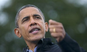 Obama spoke at a Colorado rally Thursday.