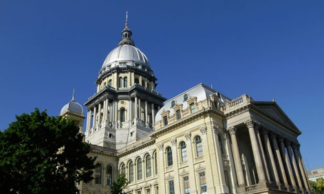 Illinois' capitol is in Springfield.