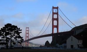Fort Baker abuts the Golden Gate Bridge.
