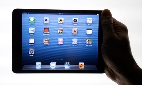 The iPad Mini is shown in San Jose, Calif.