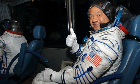 Astronaut Leroy Chiao