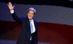 Sen. John Kerry served in the Vietnam War and was the Democratic nominee for president in 2004.