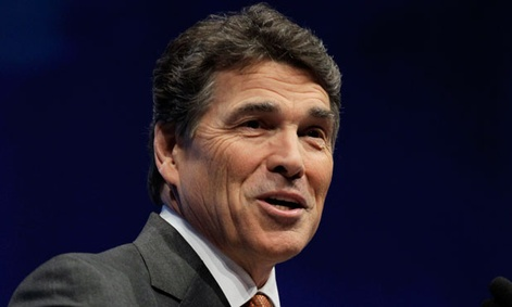 "Texas governor Rick Perry said that he ""believes in the greatness of our union and nothing should be done to change it."""